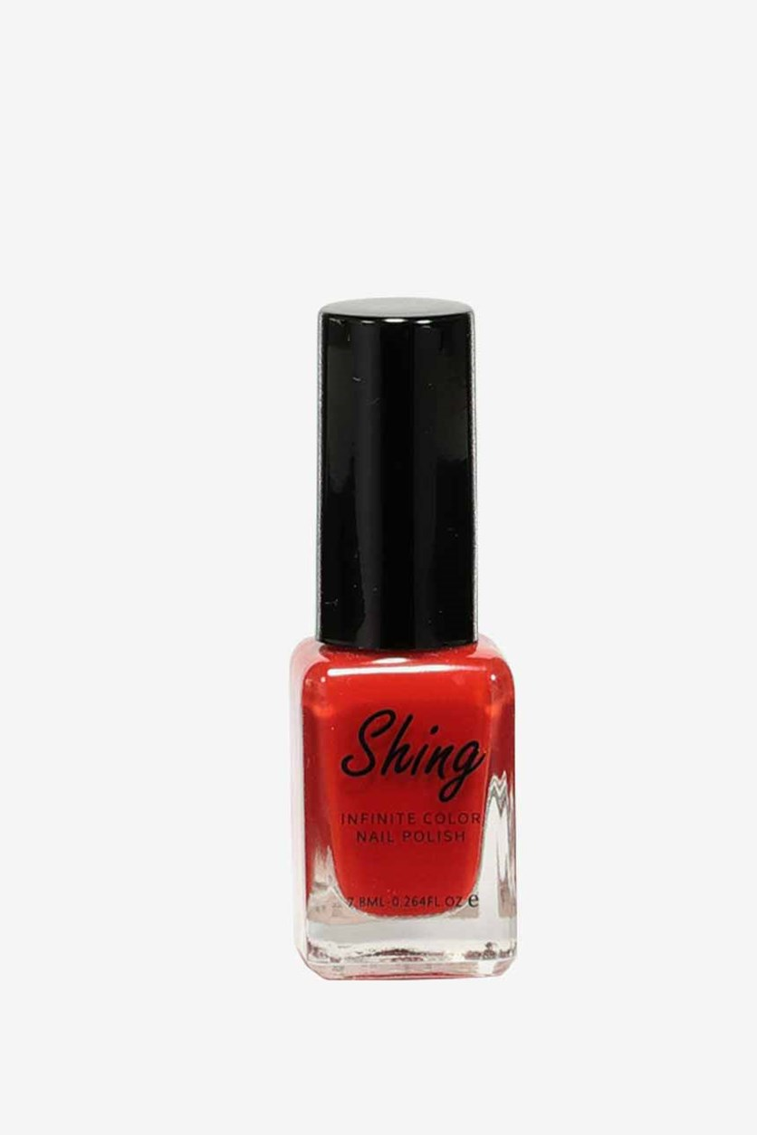 Shiing Infinite Color Nail Polish 7.8ml, #4 Paste The Red