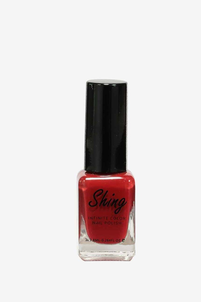 Shining Infinite Color Nail Polish, #06 Deep Red