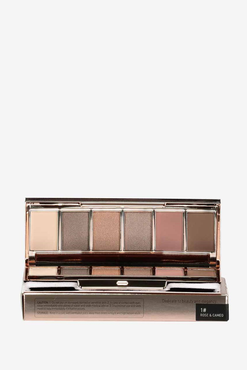 Skin Secret 6-Color Eyeshadow Palette, Rose & Cameo