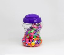 Kids Educational Toy Pop Beads, Purple Combo
