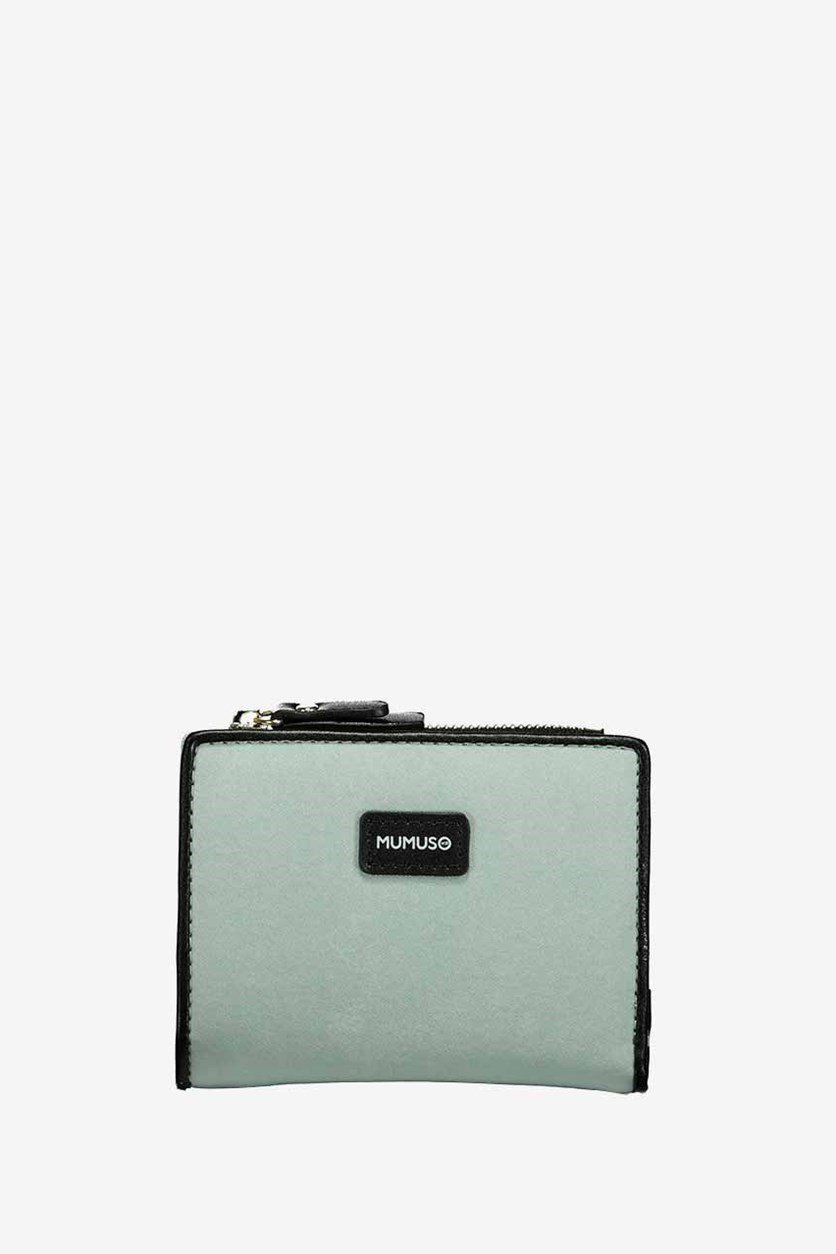 Artificial Leather Wallet, Green