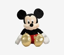 Disney Mickey Mouse Plush Toys, Black/Red Combo