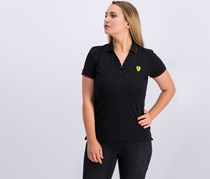 Ferrari F1 Team Ladies Classic Polo Shirt, Black