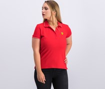 Ferrari F1 Classic Ladies Polo Shirt, Red