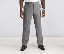 Ralph Lauren Classic Fit Double Pleat Pant, Grey