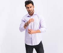 Roberto Cavalli Camicia Comfort Fit Button Down Dress Shirt, Lilac