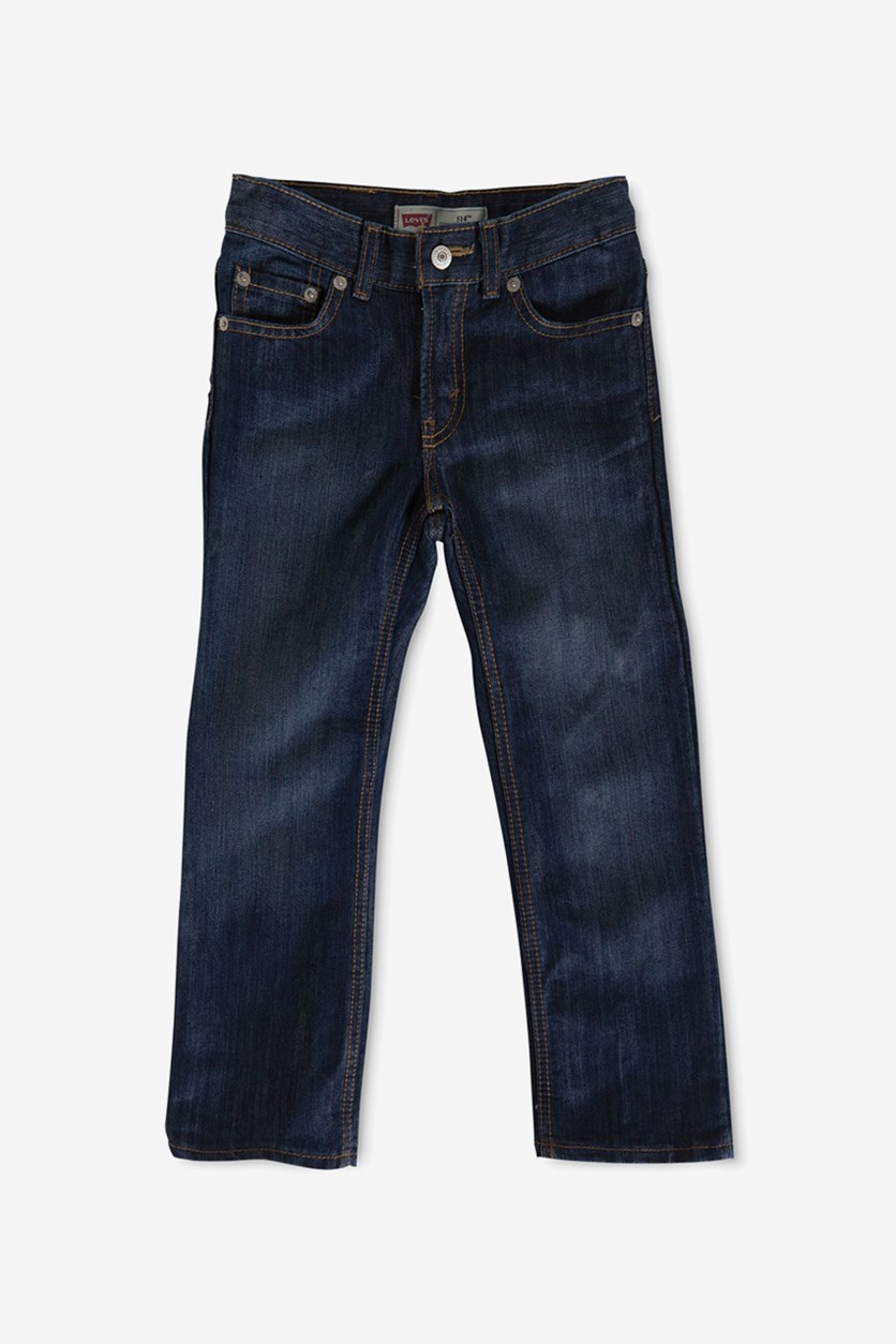 514 Straight Fit Jeans, Blue