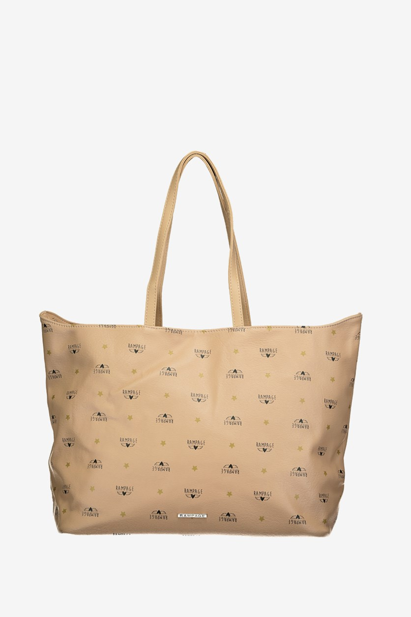 Women's Star Signature Tote, Almond