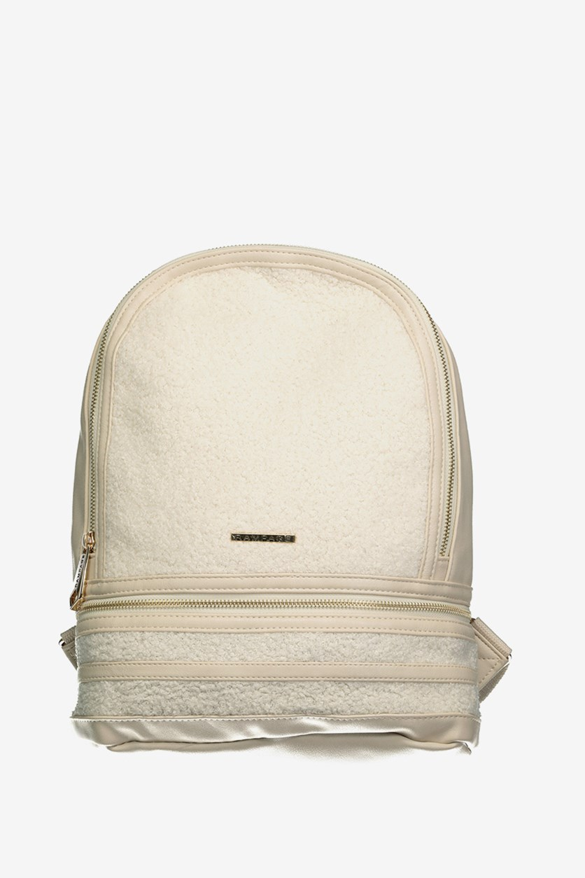 Women's Textured Backpack, Birch