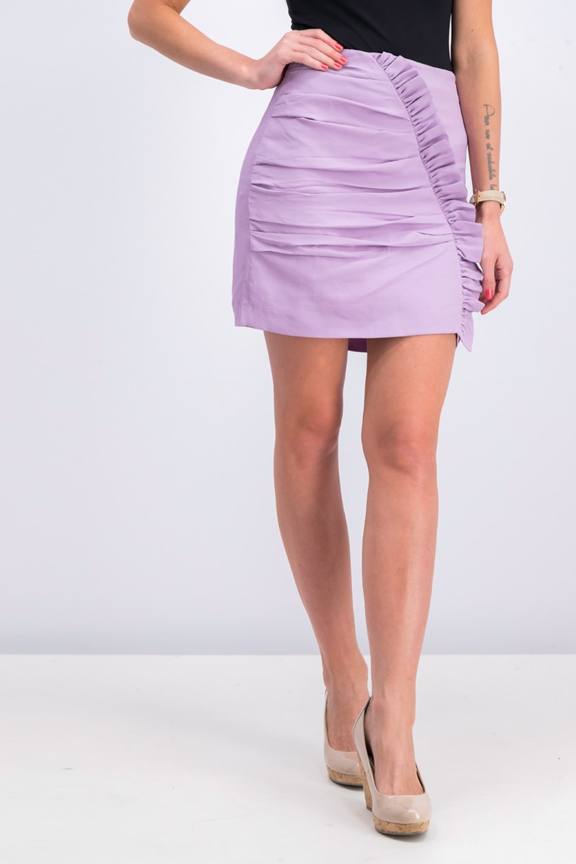 Women's Ruffle Skirt, Lilac