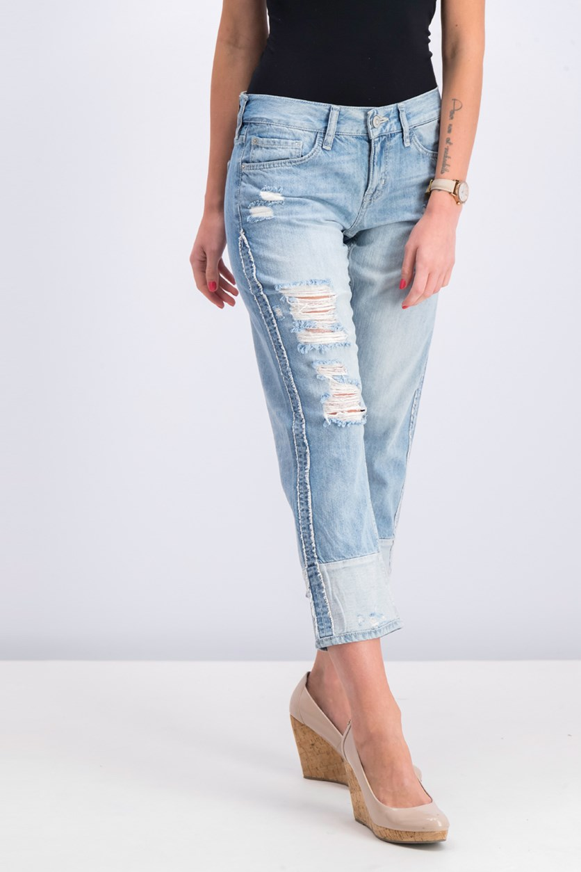 Women's Relaxed Fit Jeans, Wash Blue