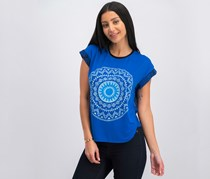 Desigual Blackville Top, Royal Blue