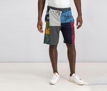 Desigual Colorblock Printed Short, Combo