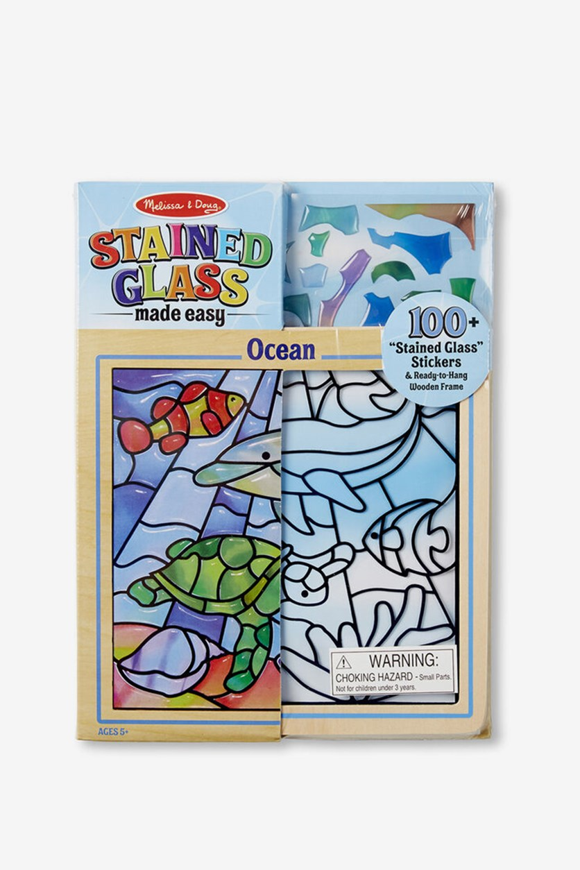 Stained Glass Made Easy Ocean, Blue Combo