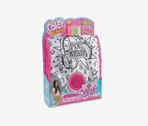 Simba Color Me Mine Popstar Speaker Messenger Bag, Pink Combo