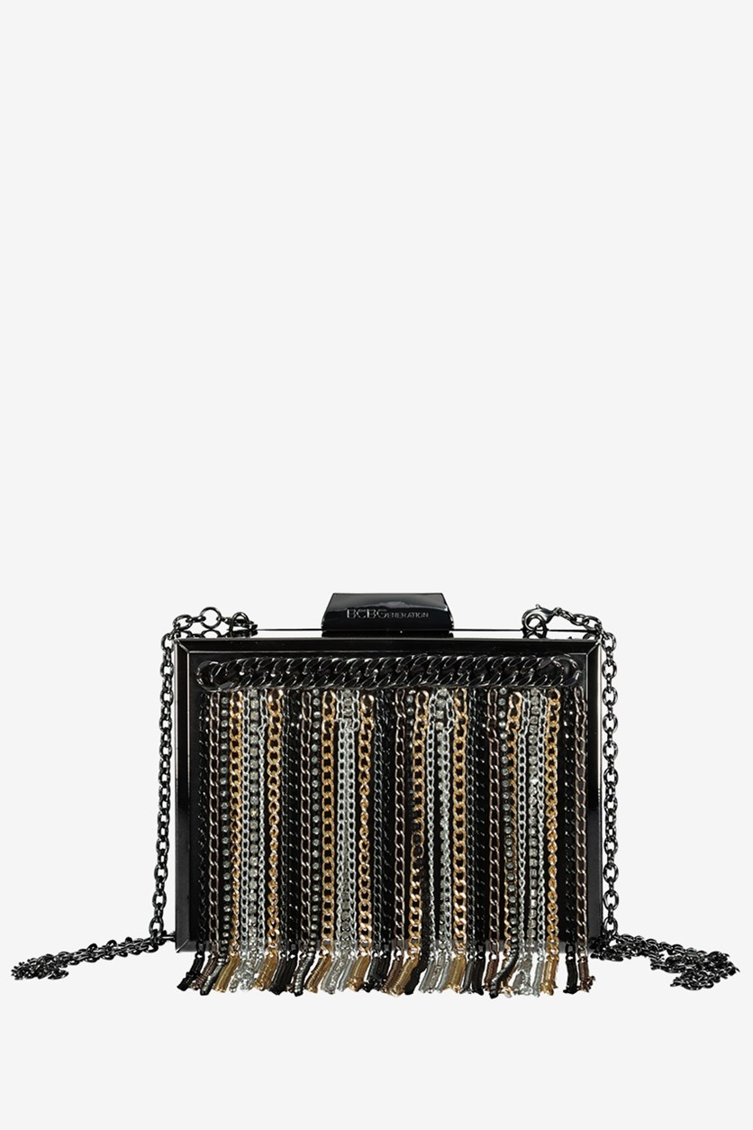 Women Jaden Clutch, Black