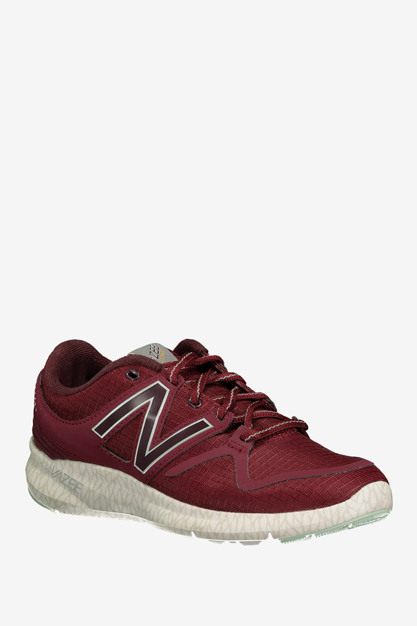 Women's Running Shoes, Maroon Combo