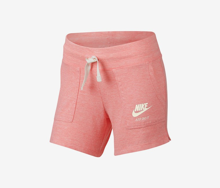 Big GirlsLogo Running Shorts, Pink