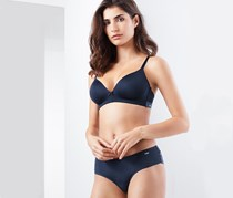Women's Soft Cup Bra, Navy Blue