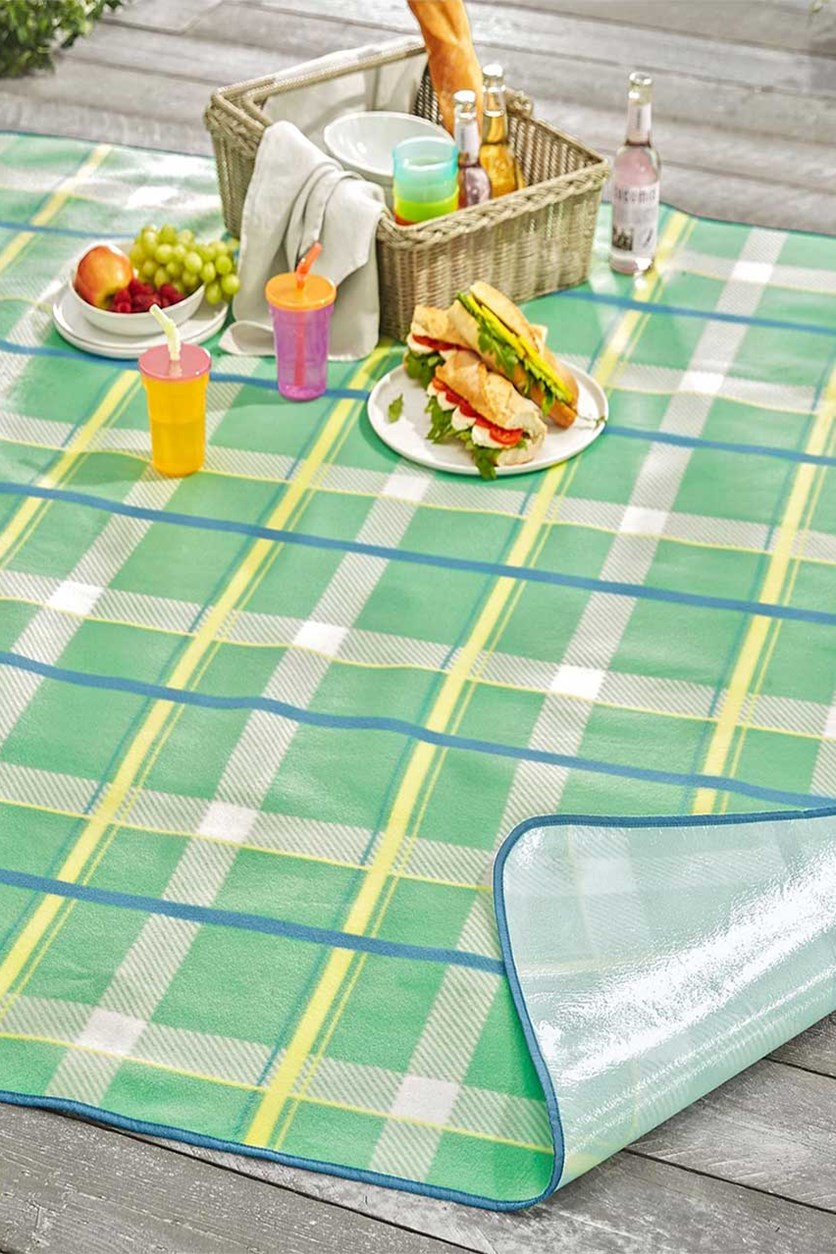 Picnic Blanket, Green