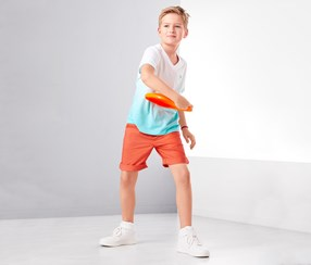 Boy's Shorts, Orange