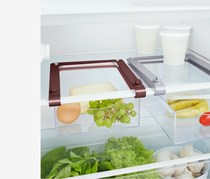 2 Pull-Out Fridge Baskets