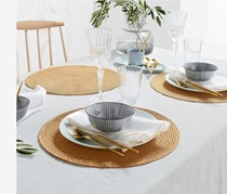 Place Mats Set of 4, Gold