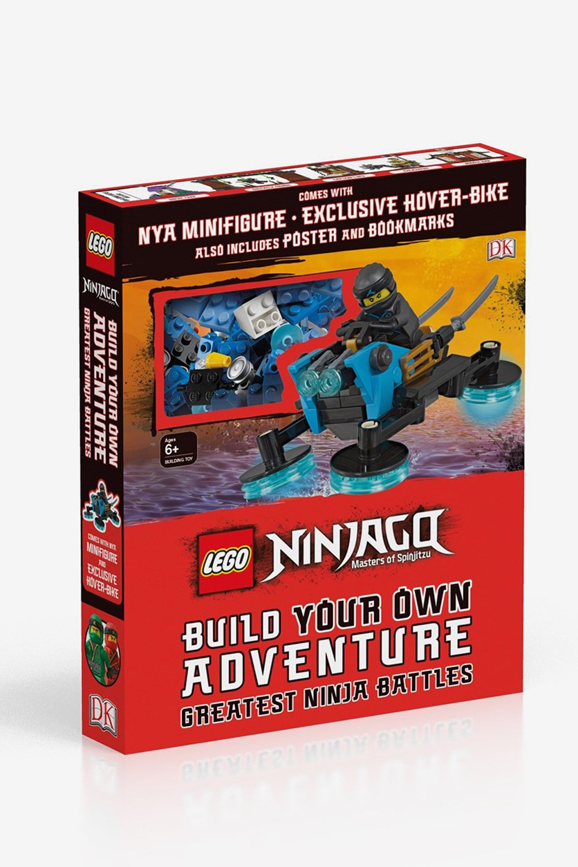 Build Your Own Adventure Greatest Ninja Battles, Red Combo