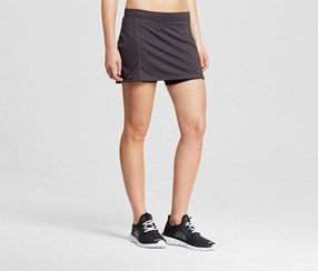 Champions Women's Run Skirt, Grey