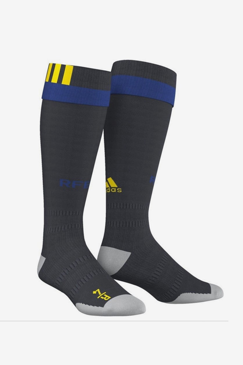 Spain Home Football Socks, Midnight Navy Combo