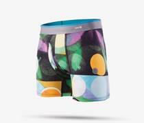 Stance Boy's Hardly Boxer Brief, Black/Yellow Combo
