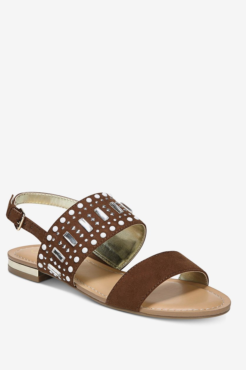 Womens Verity Sandals, Bourbon