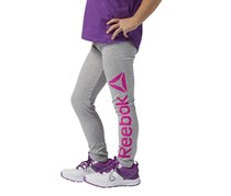 Reebok Girl's Legging, Grey