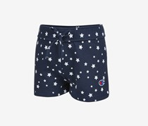 Champion Kids Girls Star-Print Shorts, Navy Blue