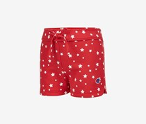 Champion Little Girls Star-Print Shorts, Champion Scarlet