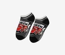 Planet Sox  Mcqueen Ankle Socks, Red/Black