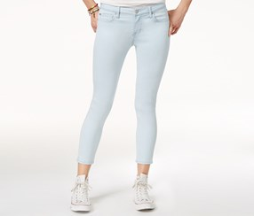 Celebrity Pink Women's Ankle-Length Skinny Jeans, Blue
