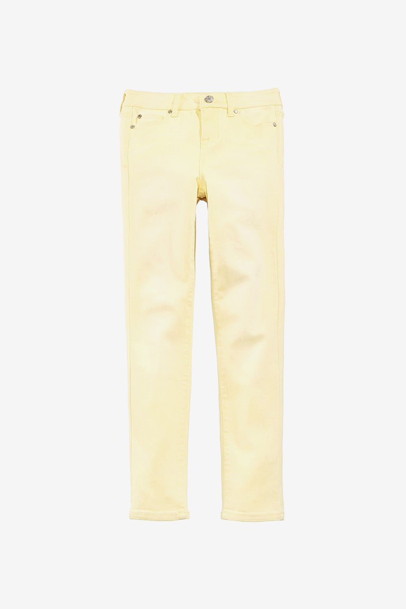 Girl's Skinny Jeans, Lemon