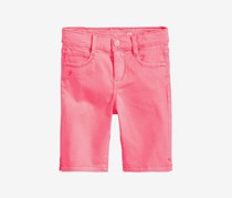 Celebrity Pink Toddler Twill Bermuda Shorts, Bright Pink