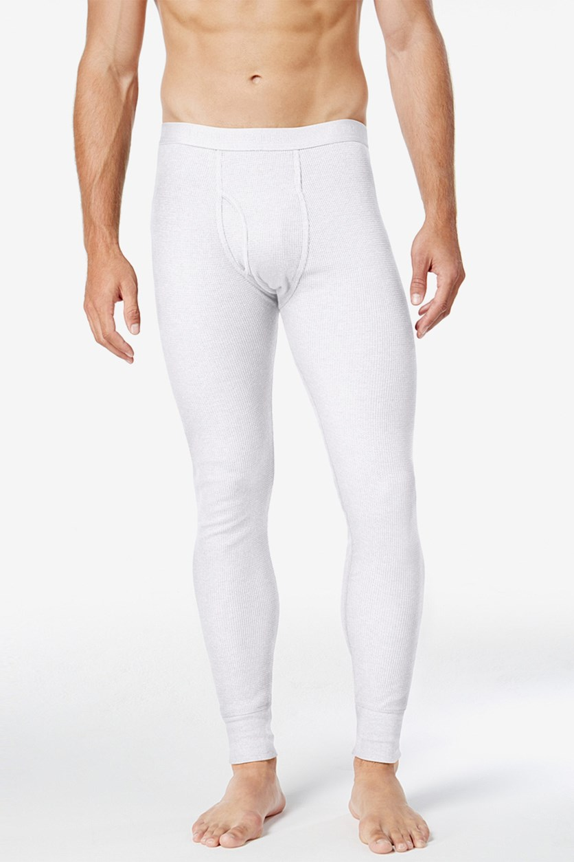 Mens Thermal Pants, White