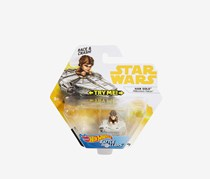 Hot Wheels Star Wars Han Solo Millennium Falcon Vehicle, Brown Combo