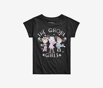Disney Toddler Girls Vampirina The Ghoul Girls T-Shirt, Black