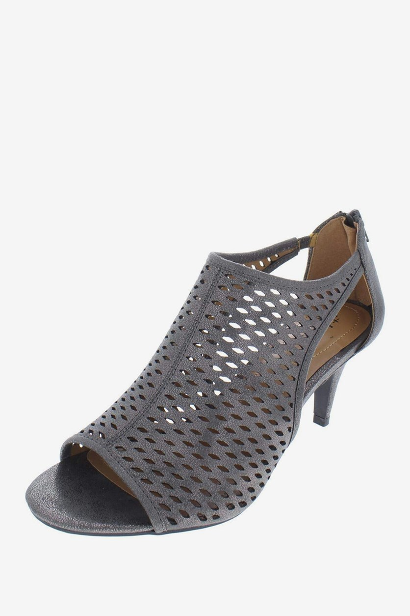 . Women's Haddiee Peep Toe D-Orsay Pumps, Flint