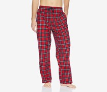 Tommy Hilfiger Men's Cozy Fleece Pajama Pant, Crimson
