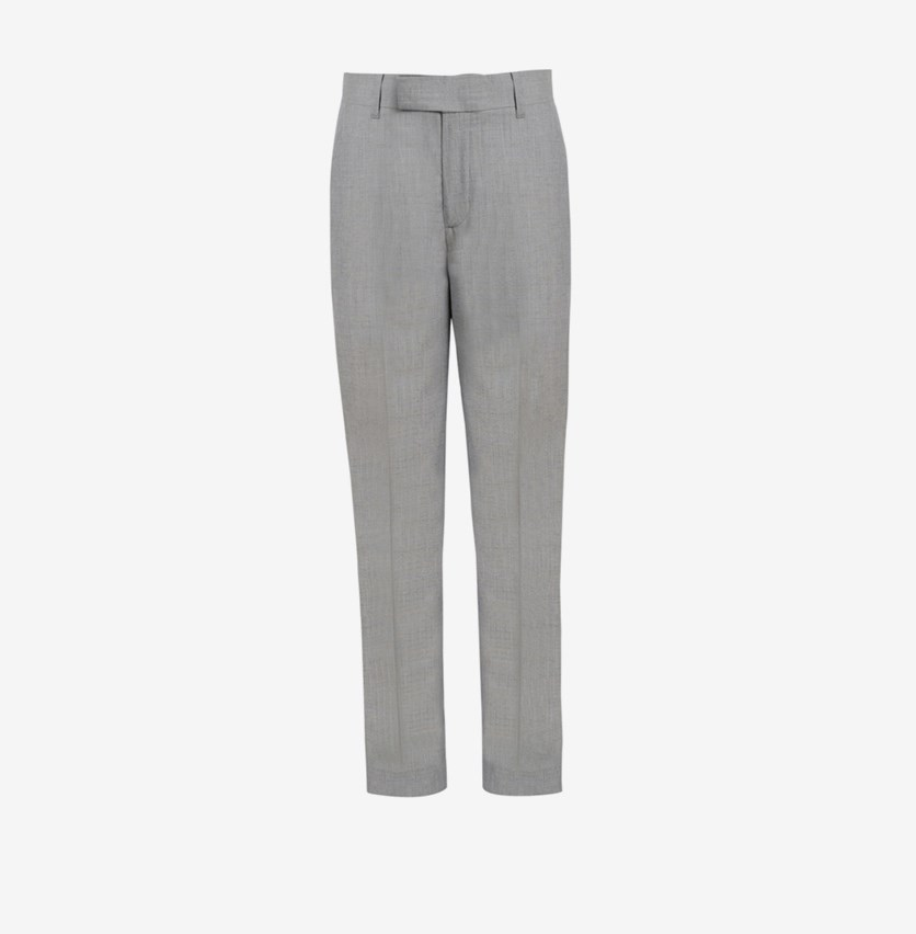 Big Boys Stretch Textured Pants, Gray