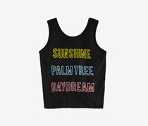 Vintage Havana Girls' Sunshine Daydreams Tank, Black