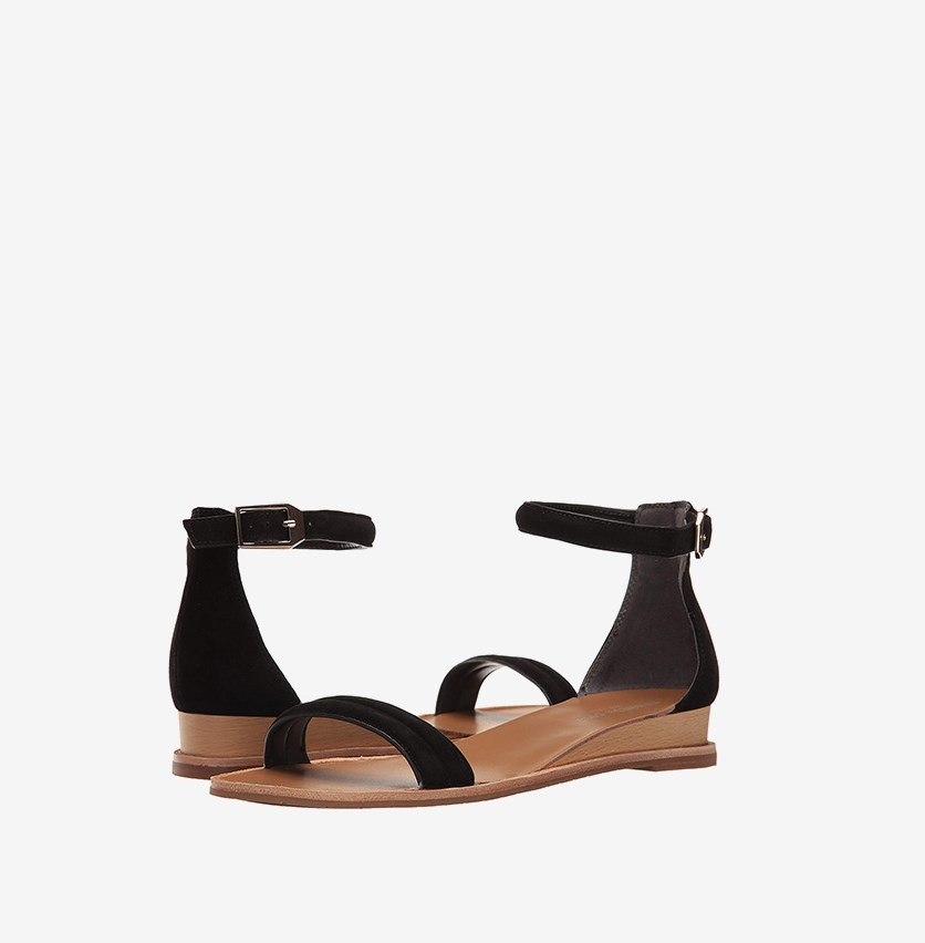 New York Jenna Sandals, Black