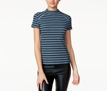 Kensie Women's Striped Top, Blue//Black