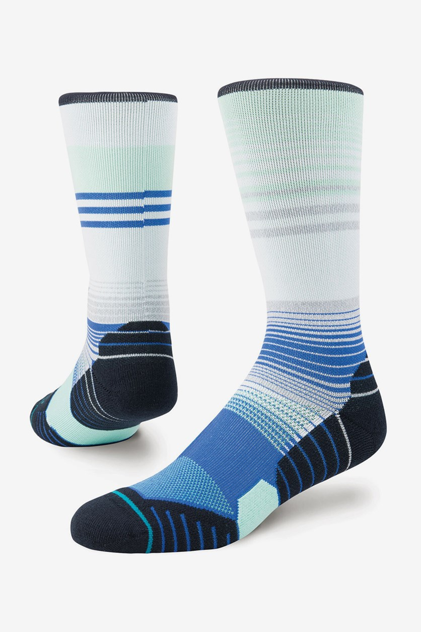 Men's Golf Socks, Mint Combo