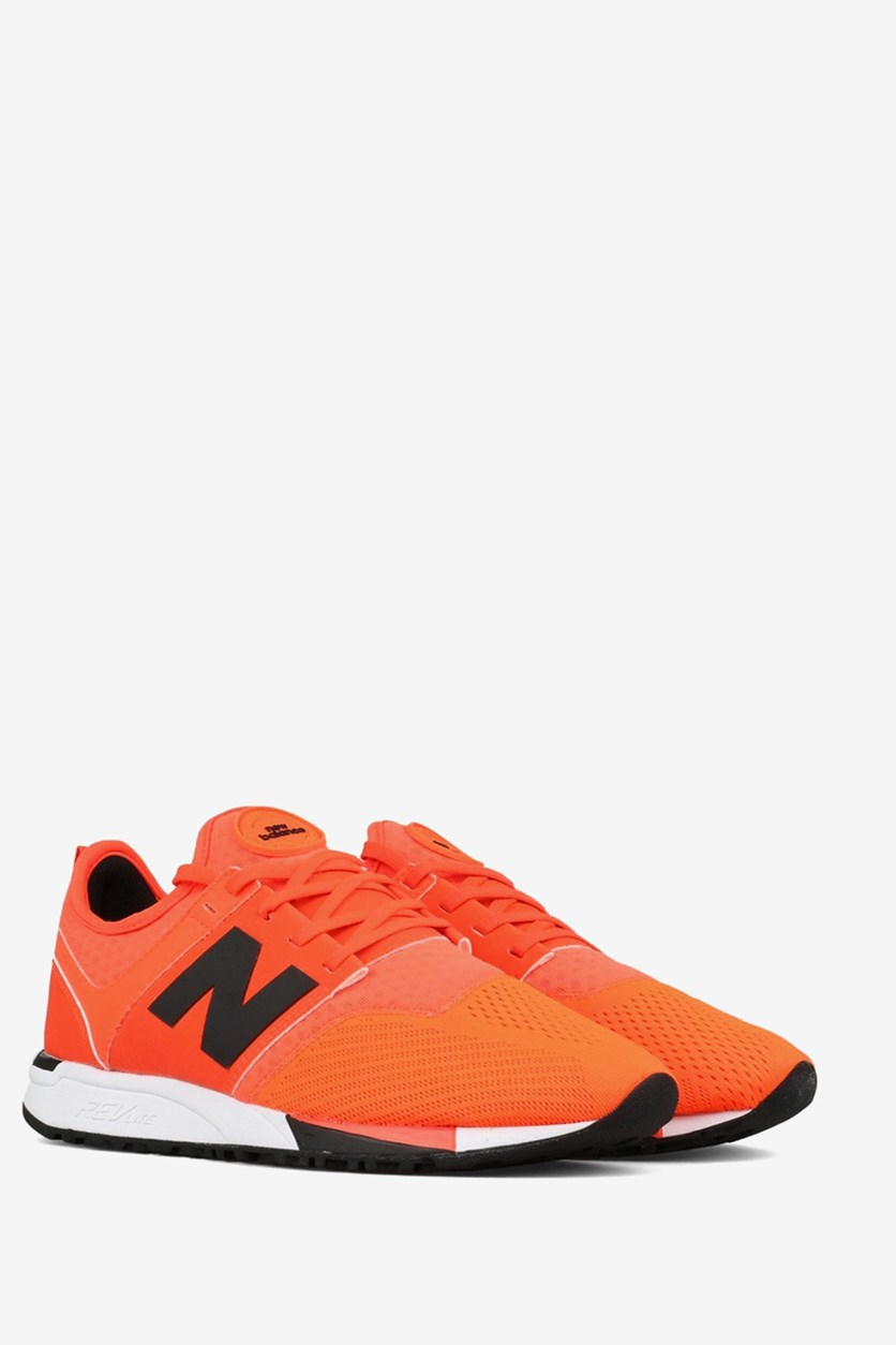 Men Running Shoes, Bright Orange